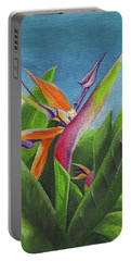 Hawaiian Bird Of Paradise Portable Battery Charger