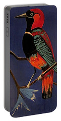 Bird On A Branch Portable Battery Charger by Kathleen Sartoris