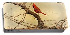Bird On A Vine Portable Battery Charger