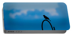 Bird Silhouette  Portable Battery Charger