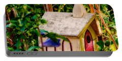 Birdhouse Church Portable Battery Charger