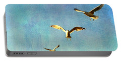 Birds Above Portable Battery Charger