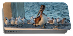 Birds - Among Friends Portable Battery Charger by HH Photography of Florida