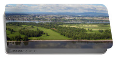 Birds Eye View Of Portland Portable Battery Charger