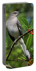 Birds - Northern Mockingbird Portable Battery Charger