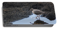 Bird's Reflection Portable Battery Charger by Belinda Greb