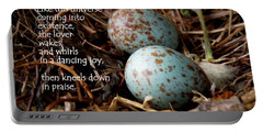 Birdsong From Inside The Egg Portable Battery Charger
