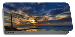 Portable Battery Charger featuring the photograph Birdy Bird At Hilton Beach by Ron Shoshani