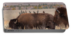Bison And Buddies Portable Battery Charger