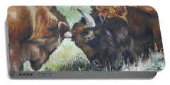 Bison Brawl Portable Battery Charger
