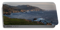 Bixby Bridge And Cows Portable Battery Charger