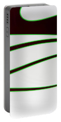 Portable Battery Charger featuring the photograph Black And Green by Joe Kozlowski