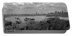 Portable Battery Charger featuring the photograph Black And White Sydney by Miroslava Jurcik