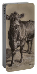Black Angus Cow 1 Portable Battery Charger