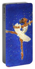 Black Ballerina Portable Battery Charger