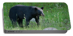 Black Bear Female Portable Battery Charger