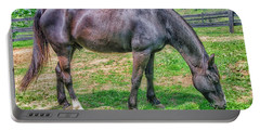 Portable Battery Charger featuring the photograph Black Beauty by Dennis Baswell