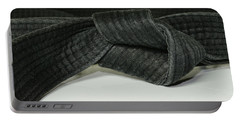 Black Belt Portable Battery Charger by Paul Ward