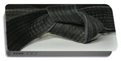 Black Belt Portable Battery Charger