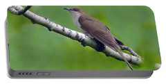 Black-billed Cuckoo Portable Battery Charger by Tony Beck