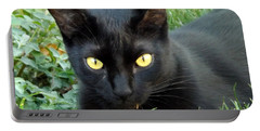 Black Cat Portable Battery Charger