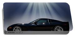 Black Corvette Portable Battery Charger