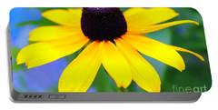 Portable Battery Charger featuring the photograph Black Eyed Susan by Judy Palkimas