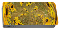 Black Eyed Susans Portable Battery Charger