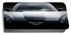 Black Grand Sport Corvette Portable Battery Charger