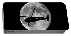 Black Hawk Moon Portable Battery Charger by Al Powell Photography USA