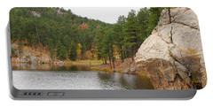 Black Hills Lake Portable Battery Charger by Mary Carol Story