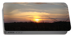 Portable Battery Charger featuring the photograph Black Hills Sunset IIi by Cathy Anderson