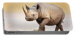 Black Rhinoceros Portable Battery Charger