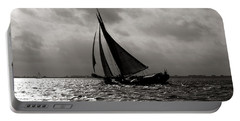 Black Sail Sunset Portable Battery Charger