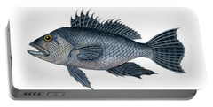 Black Sea Bass 3 Portable Battery Charger