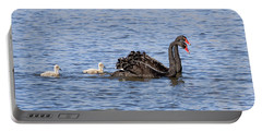 Black Swans Portable Battery Charger
