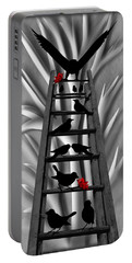 Blackbird Ladder Portable Battery Charger by Barbara St Jean