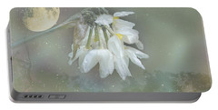 Portable Battery Charger featuring the photograph Blanche by Elaine Teague