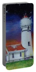 Blanco Lighthouse Portable Battery Charger by Thomas J Herring
