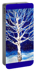 Blanket Of Stillness Portable Battery Charger by Jackie Carpenter