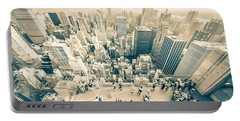 Bleached Manhattan Portable Battery Charger