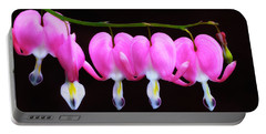 Bleeding Hearts In Bloom Portable Battery Charger
