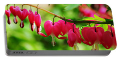 Romantic Bleeding Hearts Portable Battery Charger
