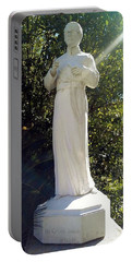 Blessed Francis Xavier Seelos C.ss.r. - New Orleans La  Portable Battery Charger by Deborah Lacoste