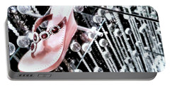 Portable Battery Charger featuring the photograph Bling  by Robert McCubbin