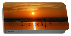 Bliss At Sunset   Portable Battery Charger