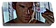 Blood Slide Dexter Portable Battery Charger