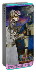 Bloody Marie Laveau Portable Battery Charger by Tammy Wetzel