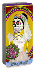 Bloody Married Portable Battery Charger by Tammy Wetzel