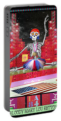Bloody Mary Lou Retton Portable Battery Charger by Tammy Wetzel